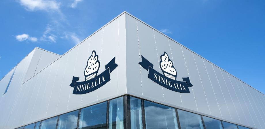 Usine sinigalia produit à glace italienne